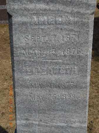 TUCH, ELIZABETH - Marquette County, Michigan   ELIZABETH TUCH - Michigan Gravestone Photos