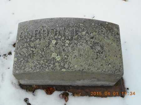 TUCKER, GORDON - Marquette County, Michigan | GORDON TUCKER - Michigan Gravestone Photos