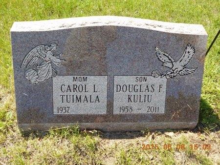 KULIU, DOUGLAS F. - Marquette County, Michigan | DOUGLAS F. KULIU - Michigan Gravestone Photos