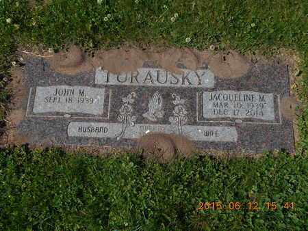 TURAUSKY, JACQUELINE M. - Marquette County, Michigan | JACQUELINE M. TURAUSKY - Michigan Gravestone Photos