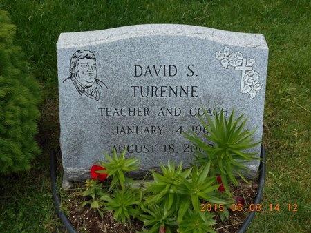 TURENNE, DAVID S. - Marquette County, Michigan | DAVID S. TURENNE - Michigan Gravestone Photos