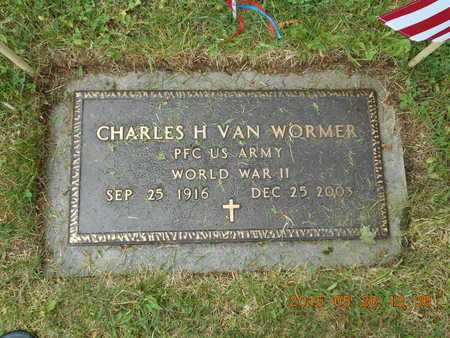 VAN WORMER, CHARLES H. - Marquette County, Michigan | CHARLES H. VAN WORMER - Michigan Gravestone Photos
