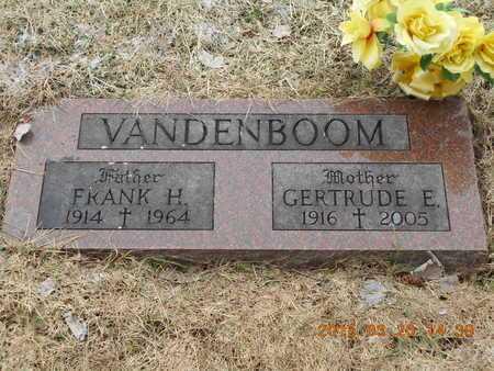 VANDENBOOM, FRANK H. - Marquette County, Michigan | FRANK H. VANDENBOOM - Michigan Gravestone Photos