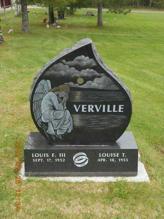 VERVILLE, LOUISE T. - Marquette County, Michigan | LOUISE T. VERVILLE - Michigan Gravestone Photos