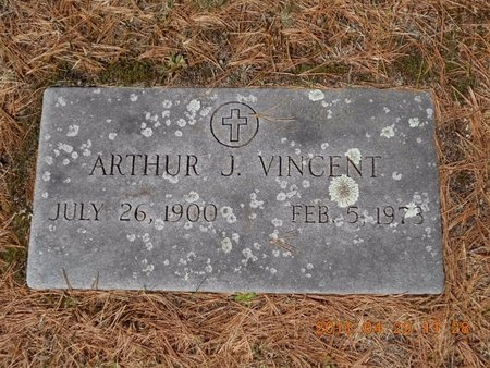 VINCENT, ARTHUR J. - Marquette County, Michigan | ARTHUR J. VINCENT - Michigan Gravestone Photos