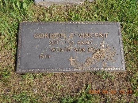 VINCENT, GORDON E. - Marquette County, Michigan | GORDON E. VINCENT - Michigan Gravestone Photos