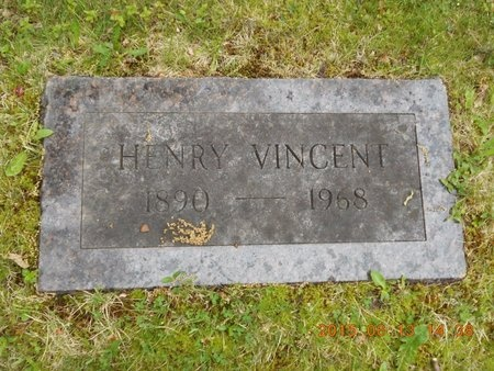 VINCENT, HENRY - Marquette County, Michigan | HENRY VINCENT - Michigan Gravestone Photos