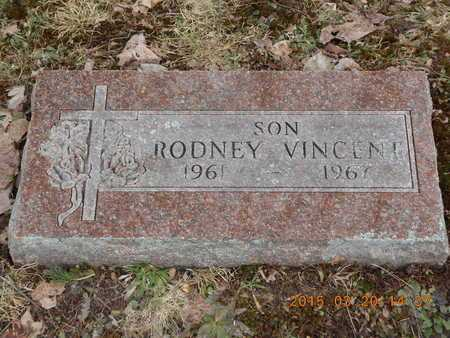 VINCENT, RODNEY - Marquette County, Michigan | RODNEY VINCENT - Michigan Gravestone Photos