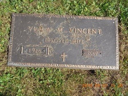 VINCENT, VIOLA M. - Marquette County, Michigan   VIOLA M. VINCENT - Michigan Gravestone Photos