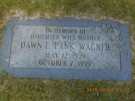 PANK WAGNER, DAWN E. - Marquette County, Michigan | DAWN E. PANK WAGNER - Michigan Gravestone Photos