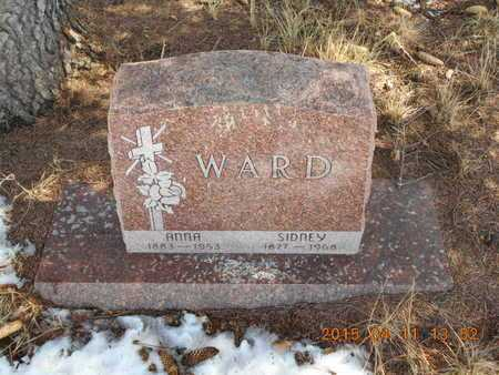 WARD, ANNA - Marquette County, Michigan | ANNA WARD - Michigan Gravestone Photos