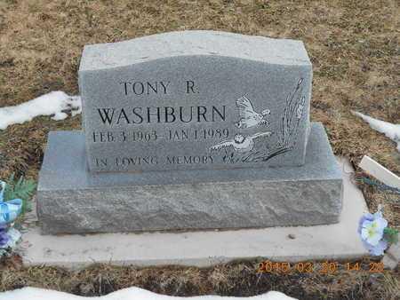 WASHBURN, TONY ROBERT - Marquette County, Michigan | TONY ROBERT WASHBURN - Michigan Gravestone Photos