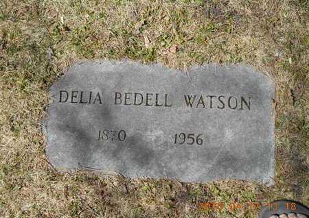 BEDELL WATSON, DELIA - Marquette County, Michigan   DELIA BEDELL WATSON - Michigan Gravestone Photos