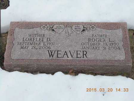 WATERS WEAVER, LORELEI DIANE - Marquette County, Michigan | LORELEI DIANE WATERS WEAVER - Michigan Gravestone Photos