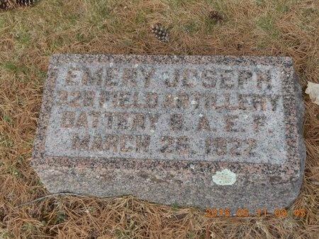 WELLET, EMERY JOSEPH - Marquette County, Michigan | EMERY JOSEPH WELLET - Michigan Gravestone Photos