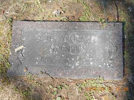 ARONSON WERNER, LYDIA - Marquette County, Michigan   LYDIA ARONSON WERNER - Michigan Gravestone Photos