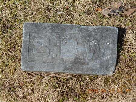 BOXER WEST, SARAH - Marquette County, Michigan | SARAH BOXER WEST - Michigan Gravestone Photos