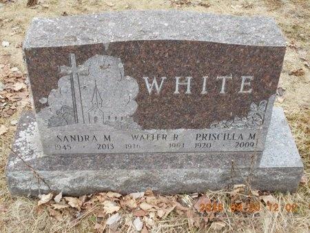 WHITE, PRISCILLA M. - Marquette County, Michigan | PRISCILLA M. WHITE - Michigan Gravestone Photos