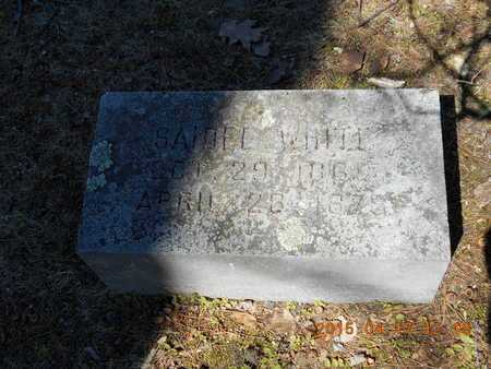 WHITE, SAIDEE - Marquette County, Michigan | SAIDEE WHITE - Michigan Gravestone Photos