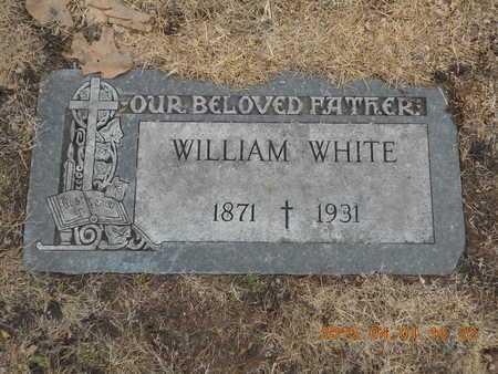 WHITE, WILLIAM - Marquette County, Michigan | WILLIAM WHITE - Michigan Gravestone Photos