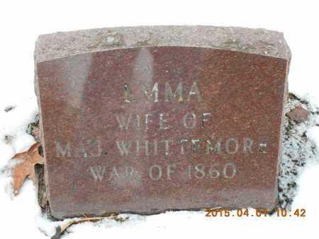 SMITH WHITTEMORE, EMMA - Marquette County, Michigan | EMMA SMITH WHITTEMORE - Michigan Gravestone Photos