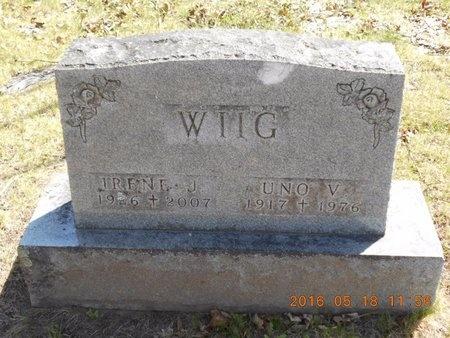WIIG, UNO V. - Marquette County, Michigan | UNO V. WIIG - Michigan Gravestone Photos