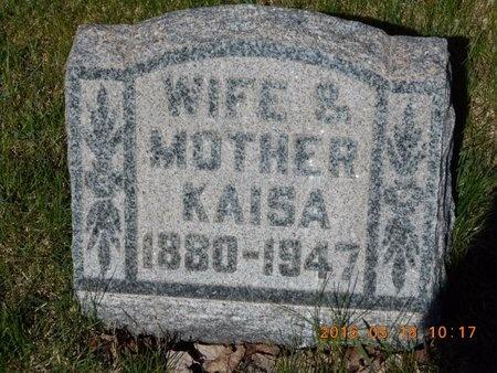 WIIG, KAISA - Marquette County, Michigan | KAISA WIIG - Michigan Gravestone Photos