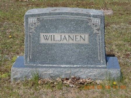 WILJANEN, FAMILY - Marquette County, Michigan | FAMILY WILJANEN - Michigan Gravestone Photos