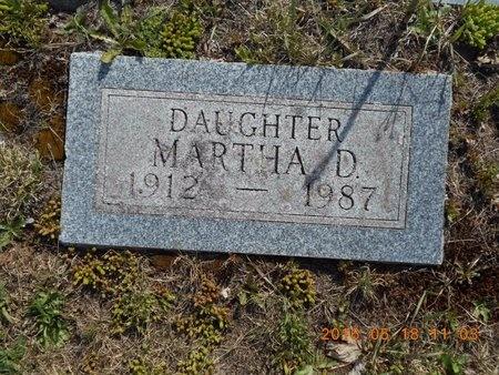 WILJANEN, MARTHA D. - Marquette County, Michigan   MARTHA D. WILJANEN - Michigan Gravestone Photos