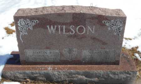 WILSON, CLARA M. - Marquette County, Michigan | CLARA M. WILSON - Michigan Gravestone Photos