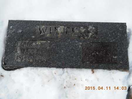 WINTERS, JAMES - Marquette County, Michigan | JAMES WINTERS - Michigan Gravestone Photos