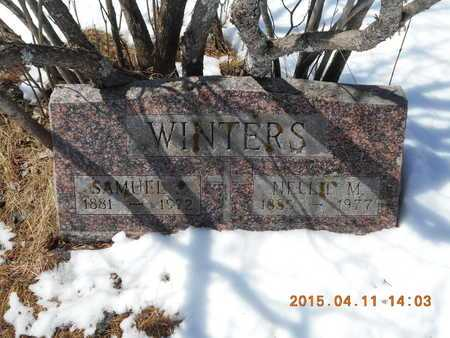 WINTERS, NELLIE M. - Marquette County, Michigan | NELLIE M. WINTERS - Michigan Gravestone Photos