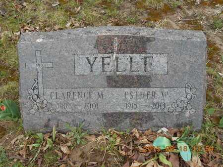 YELLE, ESTHER W. - Marquette County, Michigan | ESTHER W. YELLE - Michigan Gravestone Photos