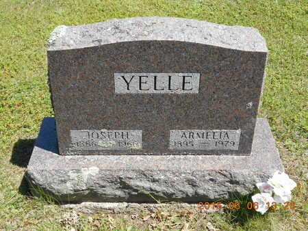 YELLE, JOSEPH - Marquette County, Michigan | JOSEPH YELLE - Michigan Gravestone Photos