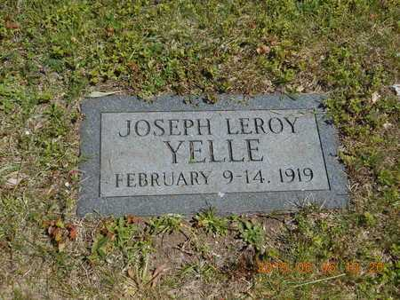 YELLE, JOSEPH LEROY - Marquette County, Michigan | JOSEPH LEROY YELLE - Michigan Gravestone Photos