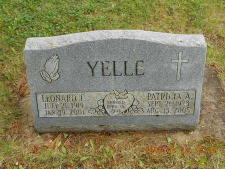 YELLE, PATRICIA A. - Marquette County, Michigan | PATRICIA A. YELLE - Michigan Gravestone Photos