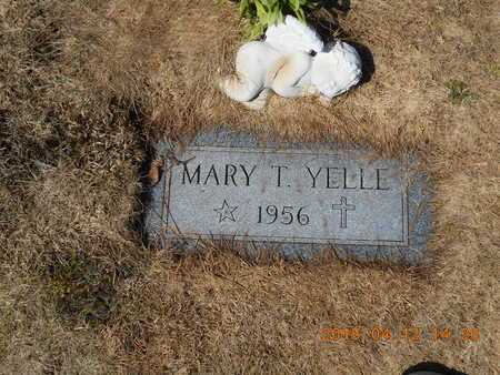 YELLE, MARY T. - Marquette County, Michigan | MARY T. YELLE - Michigan Gravestone Photos