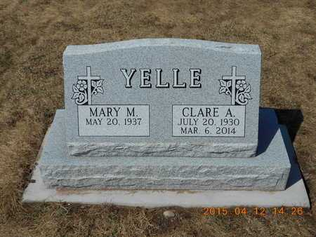 YELLE, CLARE A. - Marquette County, Michigan | CLARE A. YELLE - Michigan Gravestone Photos