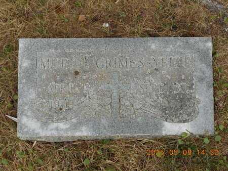 GRIMES YELLE, MURIEL - Marquette County, Michigan | MURIEL GRIMES YELLE - Michigan Gravestone Photos