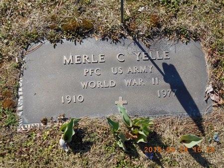 YELLE, MERLE C. - Marquette County, Michigan | MERLE C. YELLE - Michigan Gravestone Photos