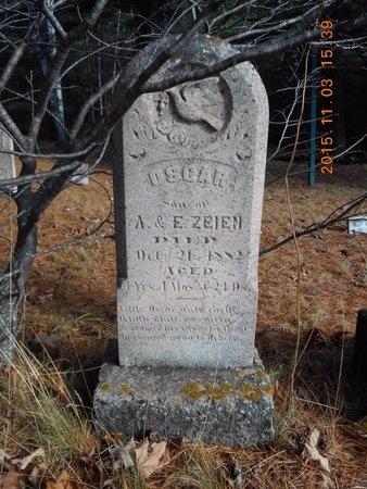 ZEIEN, OSCAR - Marquette County, Michigan | OSCAR ZEIEN - Michigan Gravestone Photos