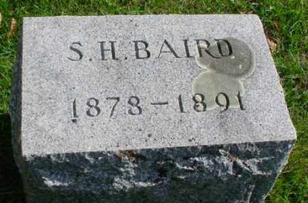 BAIRD, S. H. - Mecosta County, Michigan | S. H. BAIRD - Michigan Gravestone Photos