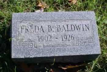 BALDWIN, FREDA B. - Mecosta County, Michigan | FREDA B. BALDWIN - Michigan Gravestone Photos