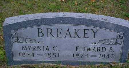 BREAKEY, MYRNIA C. - Mecosta County, Michigan   MYRNIA C. BREAKEY - Michigan Gravestone Photos