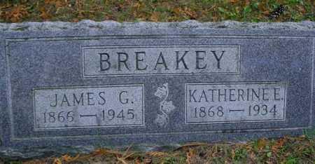 BREAKEY, JAMES G. - Mecosta County, Michigan   JAMES G. BREAKEY - Michigan Gravestone Photos