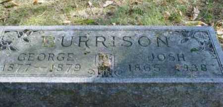 BURRISON, JOSH - Mecosta County, Michigan | JOSH BURRISON - Michigan Gravestone Photos