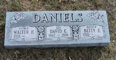 DANIELS, DAVID G. - Mecosta County, Michigan | DAVID G. DANIELS - Michigan Gravestone Photos