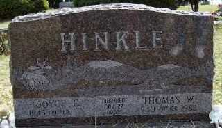 HINKLE, JOYCE C. - Mecosta County, Michigan | JOYCE C. HINKLE - Michigan Gravestone Photos
