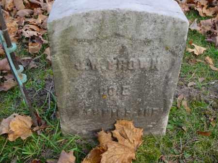 J. W., BROWN - Mecosta County, Michigan | BROWN J. W. - Michigan Gravestone Photos