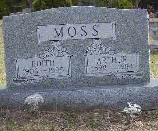 MOSS, ARTHUR PERCIVAL - Mecosta County, Michigan | ARTHUR PERCIVAL MOSS - Michigan Gravestone Photos